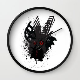 The Little Creep That Lives Under The Bed. Wall Clock