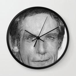 Ben Stiller Traditional Portrait Print Wall Clock