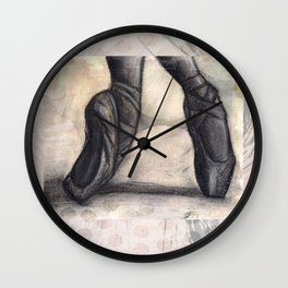 Dance of a Ballerina Wall Clock