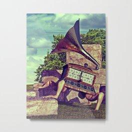 Free Jazz - version 3 Metal Print