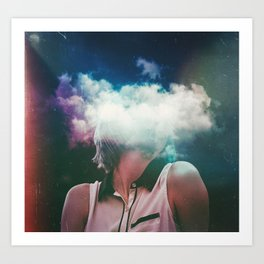 Distance On My Mind (The Clouded Diaries) Art Print
