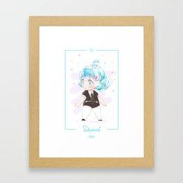 Fan Art Of Land Of The Lustrous - Diamond Framed Art Print