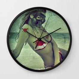 Beautiful Mourning Wall Clock