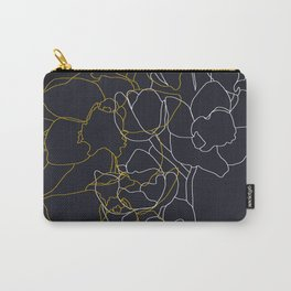 Pure poetry and some flowers Carry-All Pouch