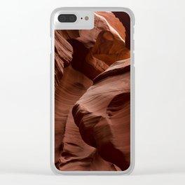 Sandstone Bison Clear iPhone Case