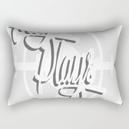 Kitty-Crosshair Rectangular Pillow