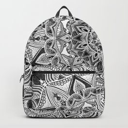 detailed mandala Backpack