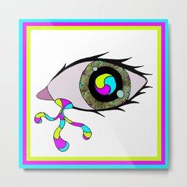 For an Eye Metal Print