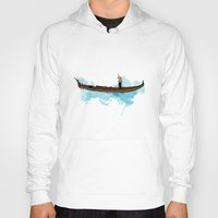boat Hoodies featuring Boat by elyinspira