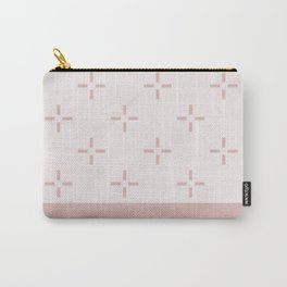 Crema Blush Carry-All Pouch