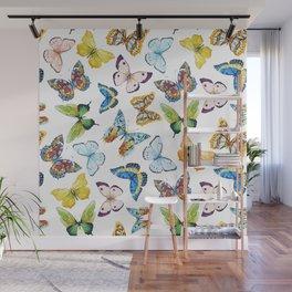 Butterfly Pattern 02 Wall Mural