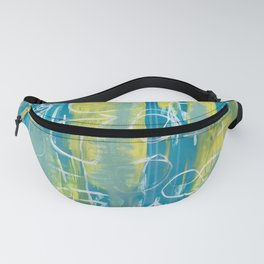Yellow & Blue Fanny Pack