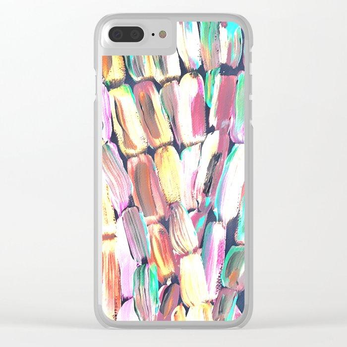 Spring Fiesta Sugarcane Clear iPhone Case