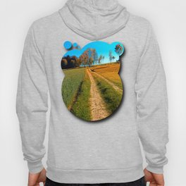 Hiking trail following the trees Hoody