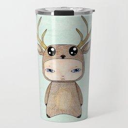 A Boy - Red Deer Travel Mug