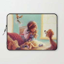 Snow White and the Seven Doggies Laptop Sleeve