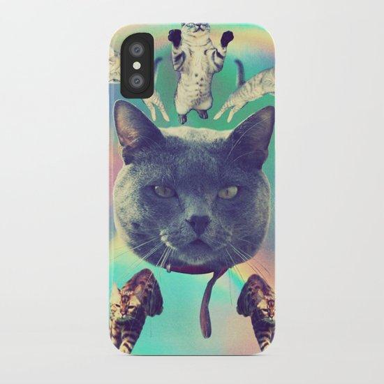 galactic Cats Saga 3 iPhone Case