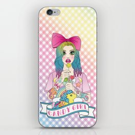 Candy Girl iPhone Skin
