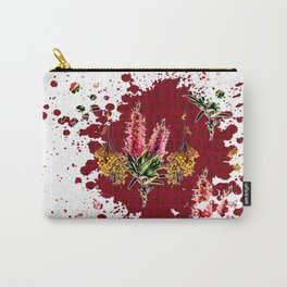 Australian Native Floral Splotch Carry-All Pouch