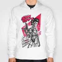sin city Hoodies featuring Gail - Sin City by Renato Cunha