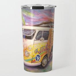 Hippie Surfer Life Travel Mug