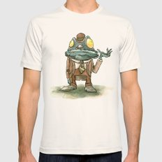 Cthulhu Mythos: Deep One SMALL Natural Mens Fitted Tee
