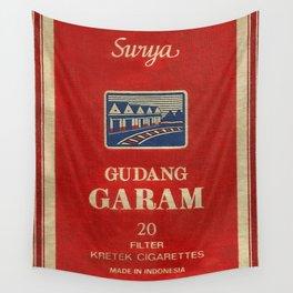 Surya - Vintage Cigarette Wall Tapestry