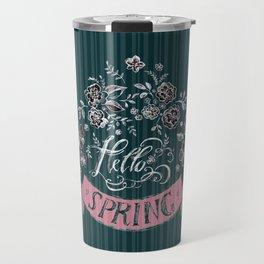 Hello Spring (2) - by Fanitsa Petrou Travel Mug