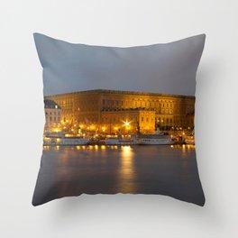 Stockholm Palace Throw Pillow