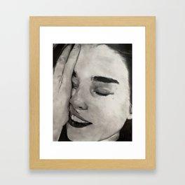 Shmoosh Framed Art Print