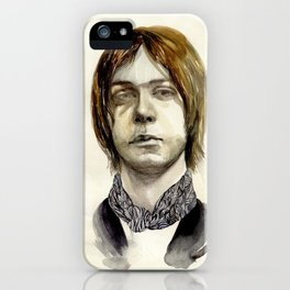 Tommy Boy within flowing pattern iPhone Case