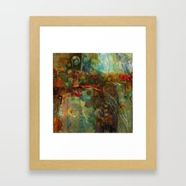 Fall to Winter Framed Art Print