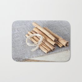 rope cinnamon Bath Mat