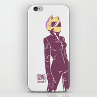 durarara iPhone & iPod Skins featuring Celty by JohannaTheMad