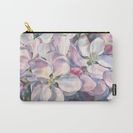 """""""Blossoming apple-tree"""" Carry-All Pouch"""
