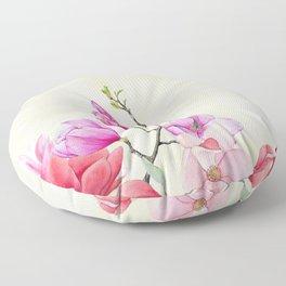 Floral Art    #2 Floor Pillow