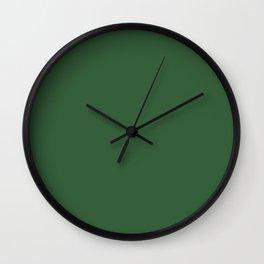 Hunter Green Wall Clock