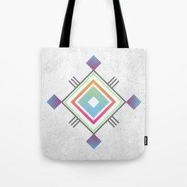 Abstract geometric indigenous symbol Tote Bag
