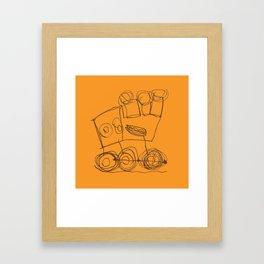 Ben's Monster Trucks no.3 Framed Art Print
