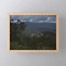 Blue Ridge Parkway Framed Mini Art Print