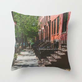 Brooklyn Summer Days Throw Pillow