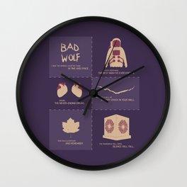 Doctor Who  Story Arcs Wall Clock
