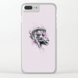 Buddha (Pink Version) Clear iPhone Case