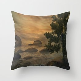 Fantasy Forest 6  Throw Pillow