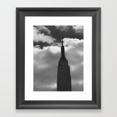 Empire State Framed Art Print