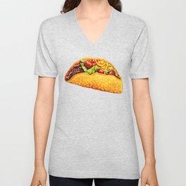 Taco Pattern Unisex V-Neck