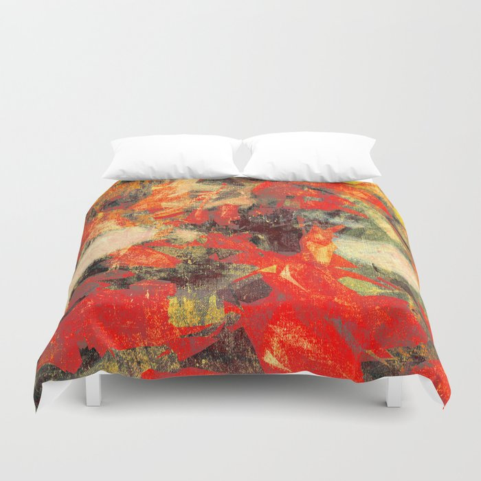 Koi pond duvet cover by fernandovieira society6 for Koi pool cover
