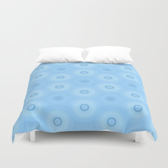 Fractal Cogs n Wheels in MWY Duvet Cover