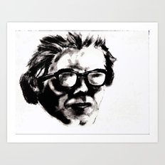 Hipster Beethoven Art Print