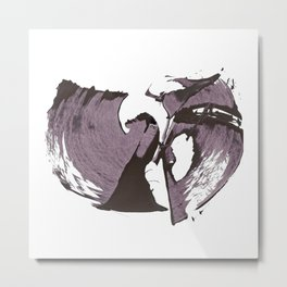 The Wu-Tang in Abstract Metal Print